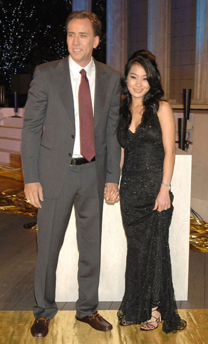 николас кейдж и его жена фото