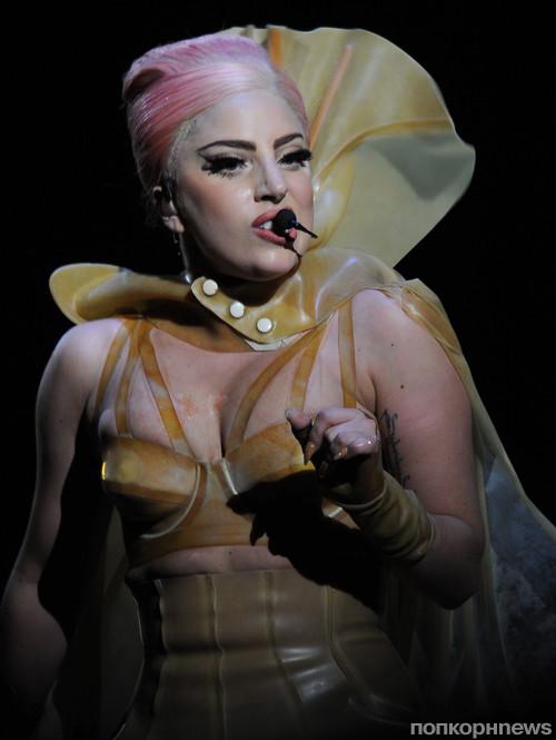 Lady GaGa на своем выступлении в январе 2013 года
