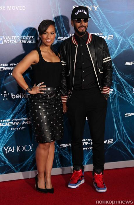 Алиша Кис с мужем