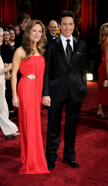 Роберт Дауни мл с женой