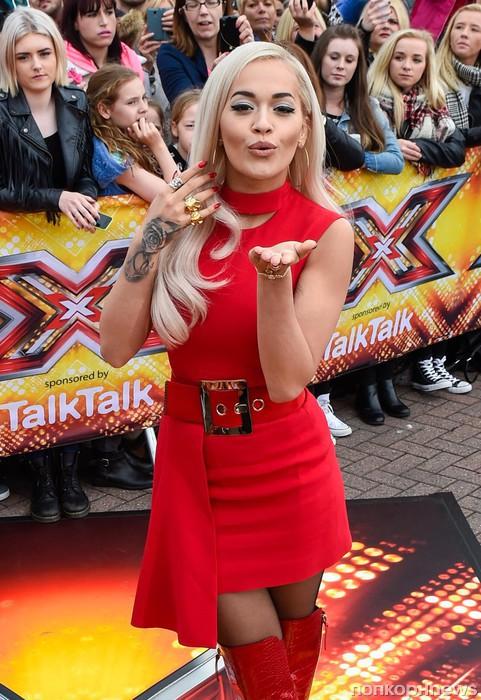 Рита Ора на прослушивании шоу X-Factor в Манчестере