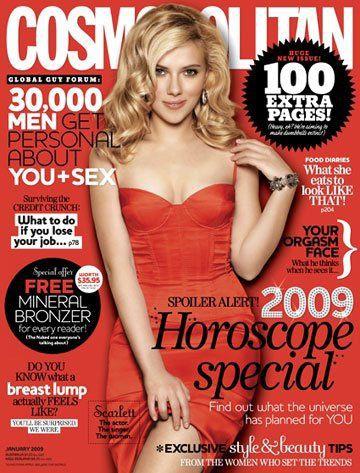 Скарлетт Йоханссон. Cosmopolitan Январь 2009. Австралия