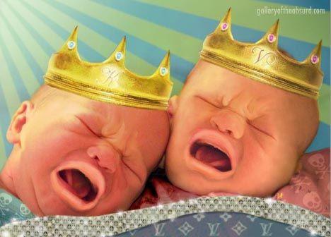 карикатуры на детей Брэда Питта и Анджелины Джоли