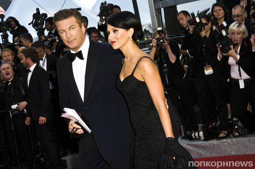 Алек Болдуин с невестой Хиларией Томас