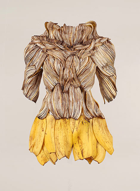 платье из бананов
