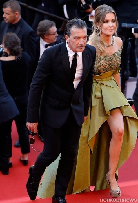 Антонио Бандерас со своей девушкой