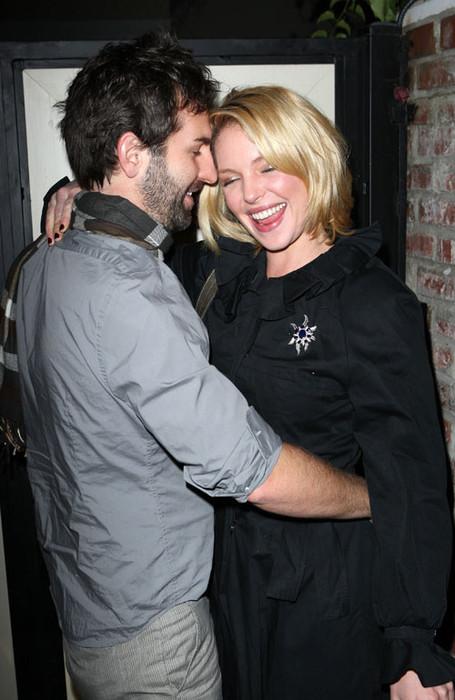 Кэтрин Хейгл с мужем