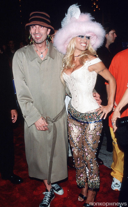 Памела Андерсон и Томми Ли, 1999