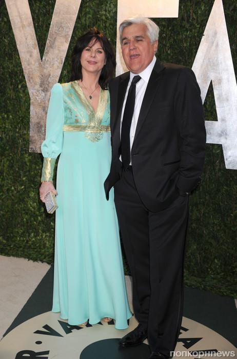 Джей Лено с женой