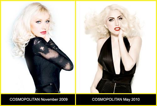 Кристина Агилера против Lady Gaga