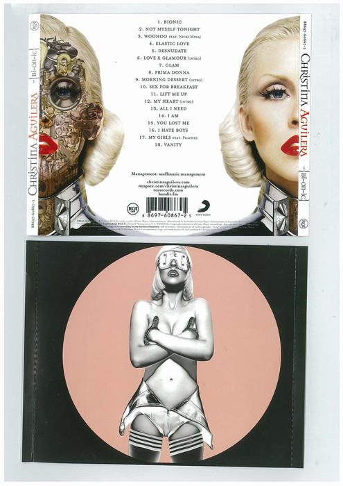 Буклет диска Кристины Агилеры