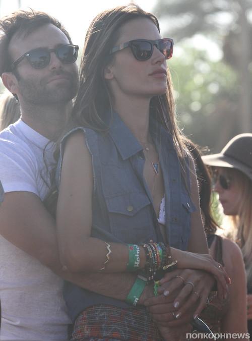 Алессандра Амбросио с мужем