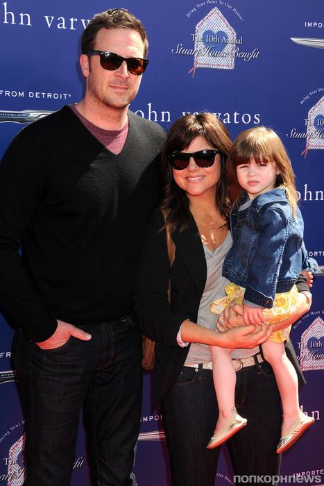 Тиффани Тиссен с семьей