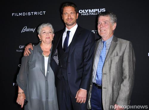 Джерард Батлер и его родители
