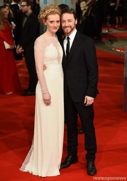 Джеймс МакЭвой с женой
