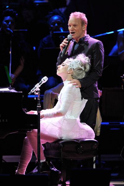 Lady Gaga и Стинг