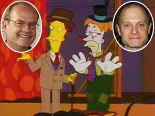Kelsey Grammer and David Hyde Pierce