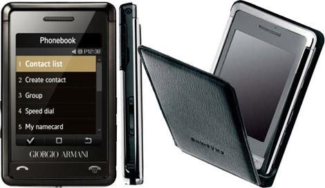 Samsung P520 Giorgio Armani