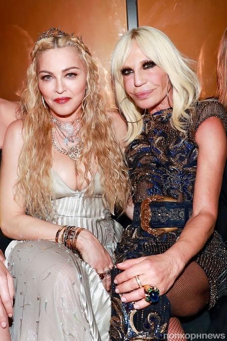 Мадонна и Донателла Версаче