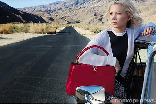0f94cd448050 Мишель Уильямс и Алисия Викандер в рекламной кампании Louis Vuitton ...