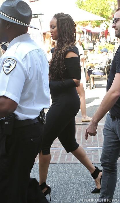 Тайра Бэнкс прибыла на конференцию в Голливуде