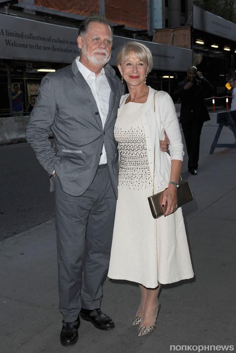 Хелен Миррен с мужем