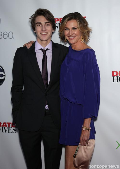 Бренда Стронг с сыном
