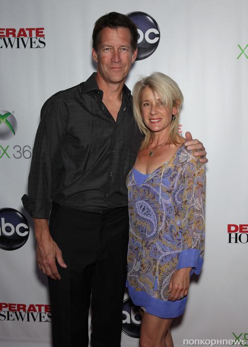Джеймс Дентон с женой
