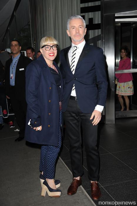 Баз Лурман с женой