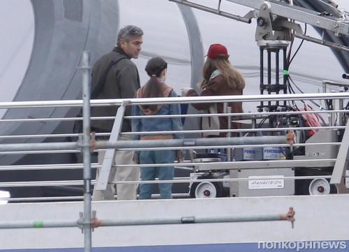 Хью Лори и Джордж Клуни