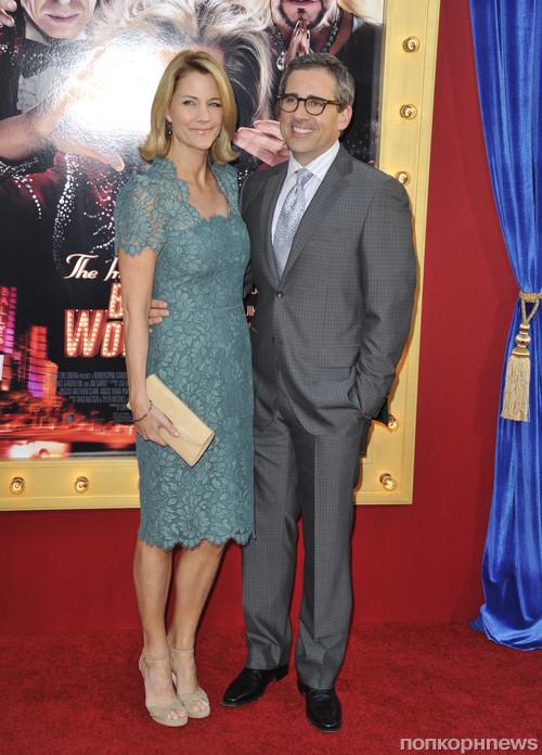 Стив Карелл с женой