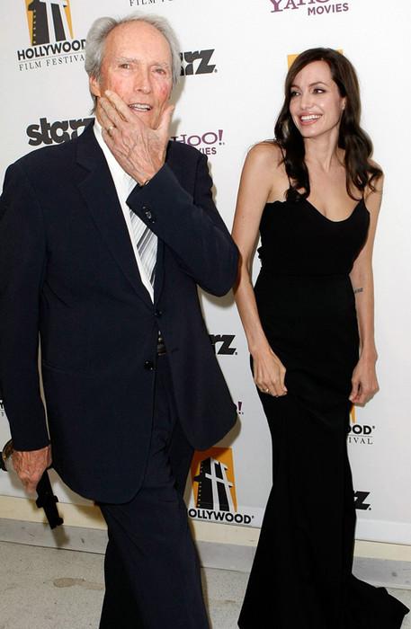 Анджелина Джоли и Клинт Иствуд