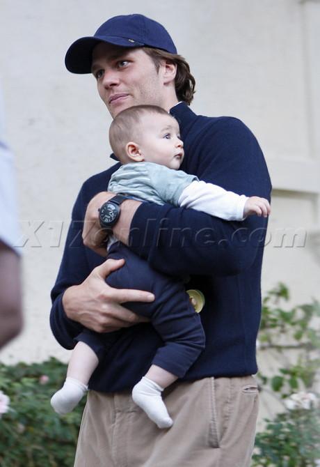 Том Брэди с Бенджамином