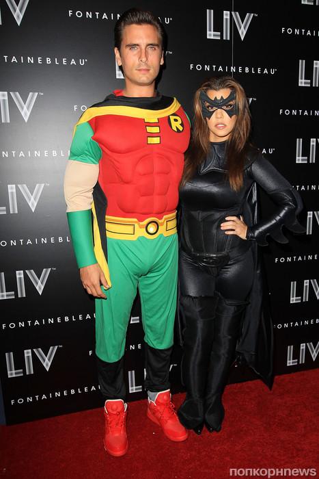 Кортни Кардашиан с мужем