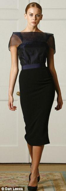 Платья от Виктории Бэкхем