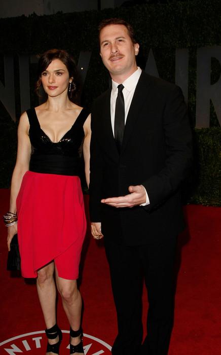 Рэйчел Вайс с мужем