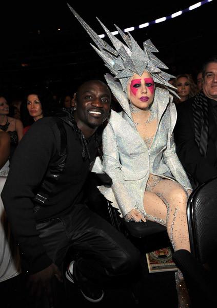 Эйкон и Lady GaGa