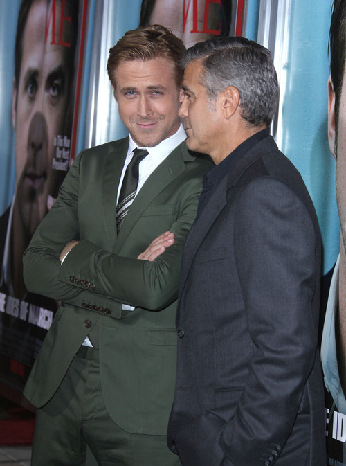 Райан Гослинг и Джордж Клуни