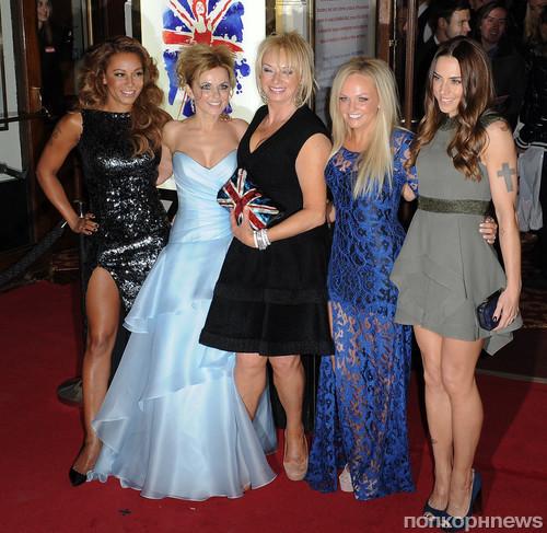 Spice Girls и автор мюзикла