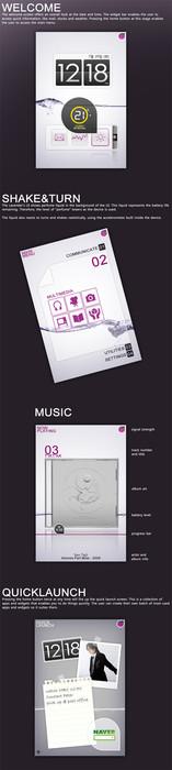 Lavender phone