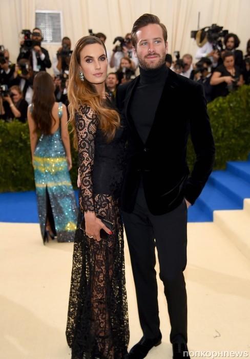 Арми Хаммер с супругой