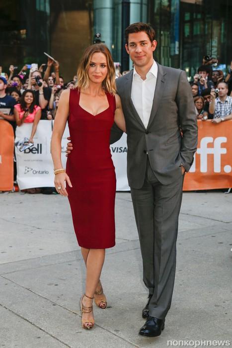 Эмили Блант с мужем