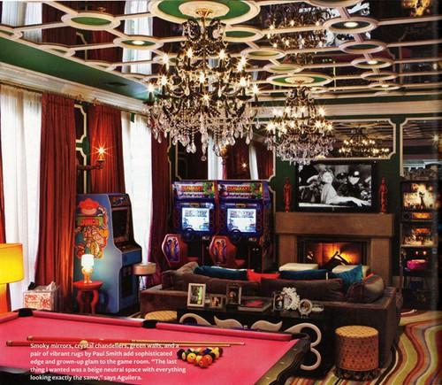 Кристина Агилера и ее дом