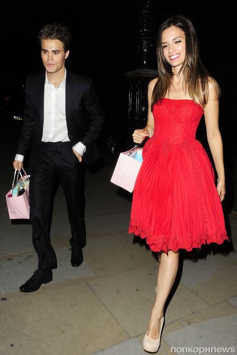 Пол Уэсли с женой