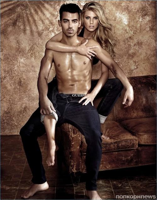 Интересно, что съемками рекламной кампании с участием Джо занимался тот же  фотограф, что снимал его брата, Ника Джонаса, в рекламе нижнего белья  Calvin ... 35463bc1c1f