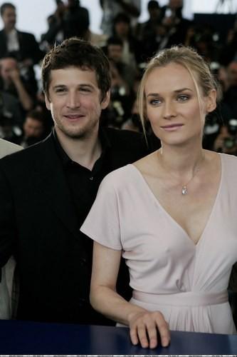 Дайан Крюгер с бывшим мужем Гийомом Кане