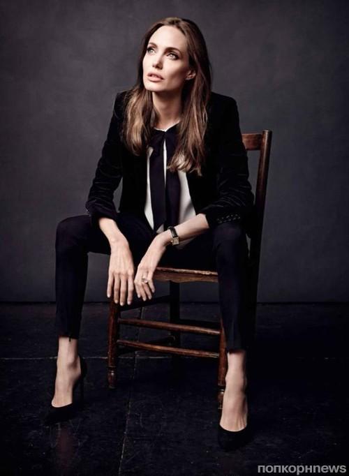 Анджелина Джоли снялась для обложки французского Elle
