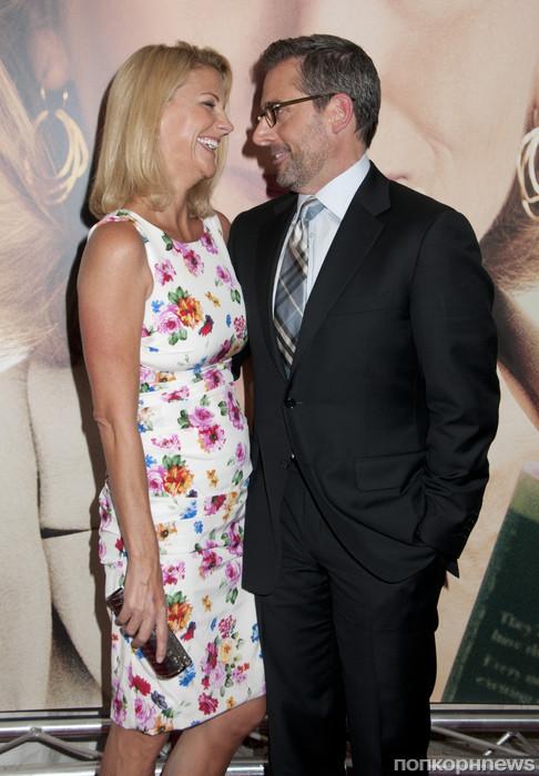 Стив Карелл и его жена Нэнси