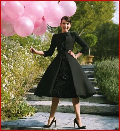 Эмма Роберт в образе Одри Хепберн