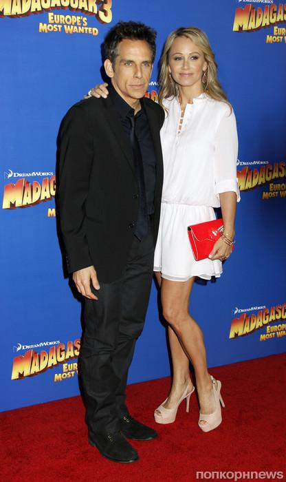 Бен Стиллер и его жена Кристин Тейлор